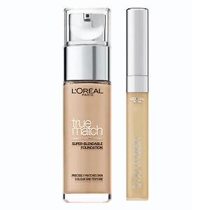 L'Oreal Paris True Match Liquid Foundation+Concealer 3N Creamy Beige