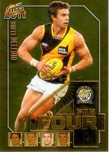 2011-Select-AFL-Champions-Fab-Four-Gold-Card-FFG51-Brett-Deledio-Richmond
