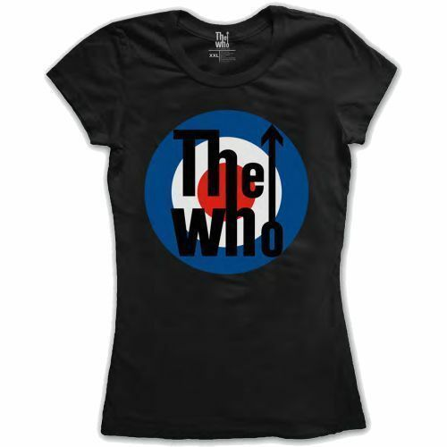 NEW /& OFFICIAL! The Who /'Target Classic/' Womens Fitted T-Shirt