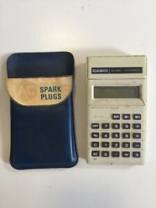 Casio-HL-810-Electronic-Calculator-Vintage-Working-in-Case
