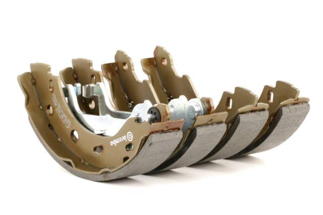 BREMBO 4x Bremsbacken Bremsbackensatz für Trommelbremse Hinten S 50 504