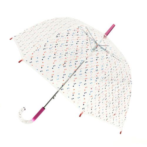 Smati Strong Long Kite Wind Resistant Transparent  Dome 8 Rib Umbrella
