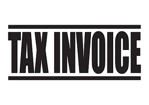 TAX INVOICE Rubber Stamp SelfInking Office Stamps Sizes - Invoice stamp