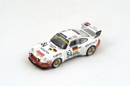 Porsche 911 Bi-turbo #54 19th Lm 1995 Kaufmann / Hane / Ligonnet 1:43 Model