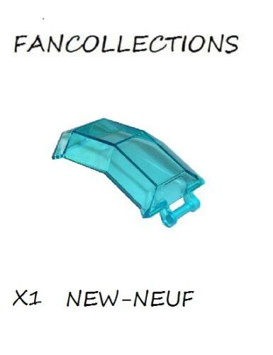 X1 Trans-Light Blue Windscreen 4 x 4 x 4 2//3 with Handle LEGO 11289 NEUF