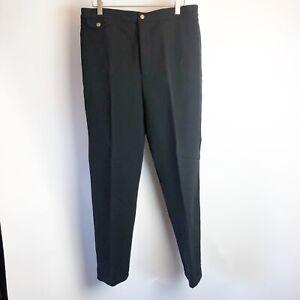 Ralph-Lauren-Women-039-s-Black-Equestrian-Pants-Size-14-Horse-Vintage