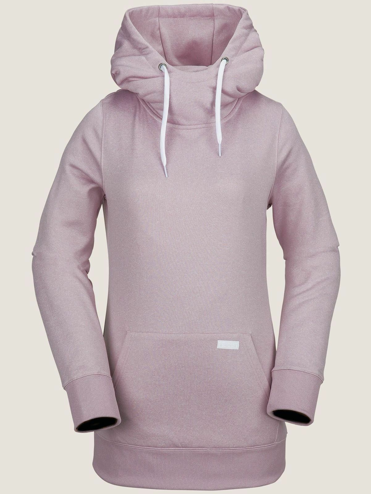 2019 NWT WOMENS YERBA PULL OVER FLEECE  HOODIE  50 S pink Wood soft long fit  come to choose your own sports style