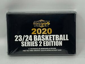 2020-SUPER-BREAK-Basketball-23-24-Edition-Series-2-Factory-Sealed-Hobby-Box