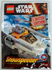 ORIGINAL-LEGO-STAR-WARS-LIMITED-EDITION-SNOWSPEEDER-911506-Foil-Pack-Sealed