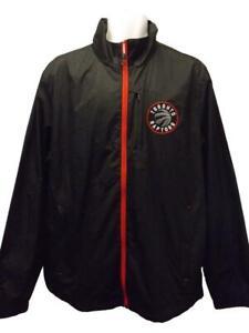 New Toronto Raptors Mens Sizes L-XL-2XL Full Zip Light Windbreaker Jacket