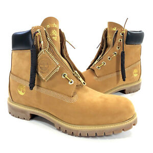 Details about Mens Timberland x DTLR 6,inch Premium Wheat Zip Up Boots Size  11.5 TB0A1QVJ 231