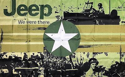 JEEP AMC Flag 3X5 ft Banner CJ5 CJ7 Cherokee Wagoneer J10 J20 Renegade Man-Cave