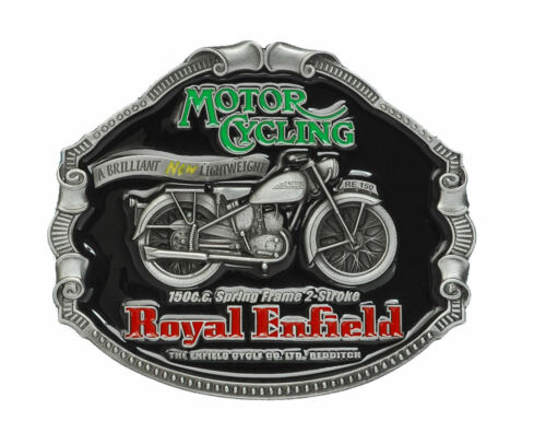 ROYAL ENFIELD Officially Licensed Belt Buckle
