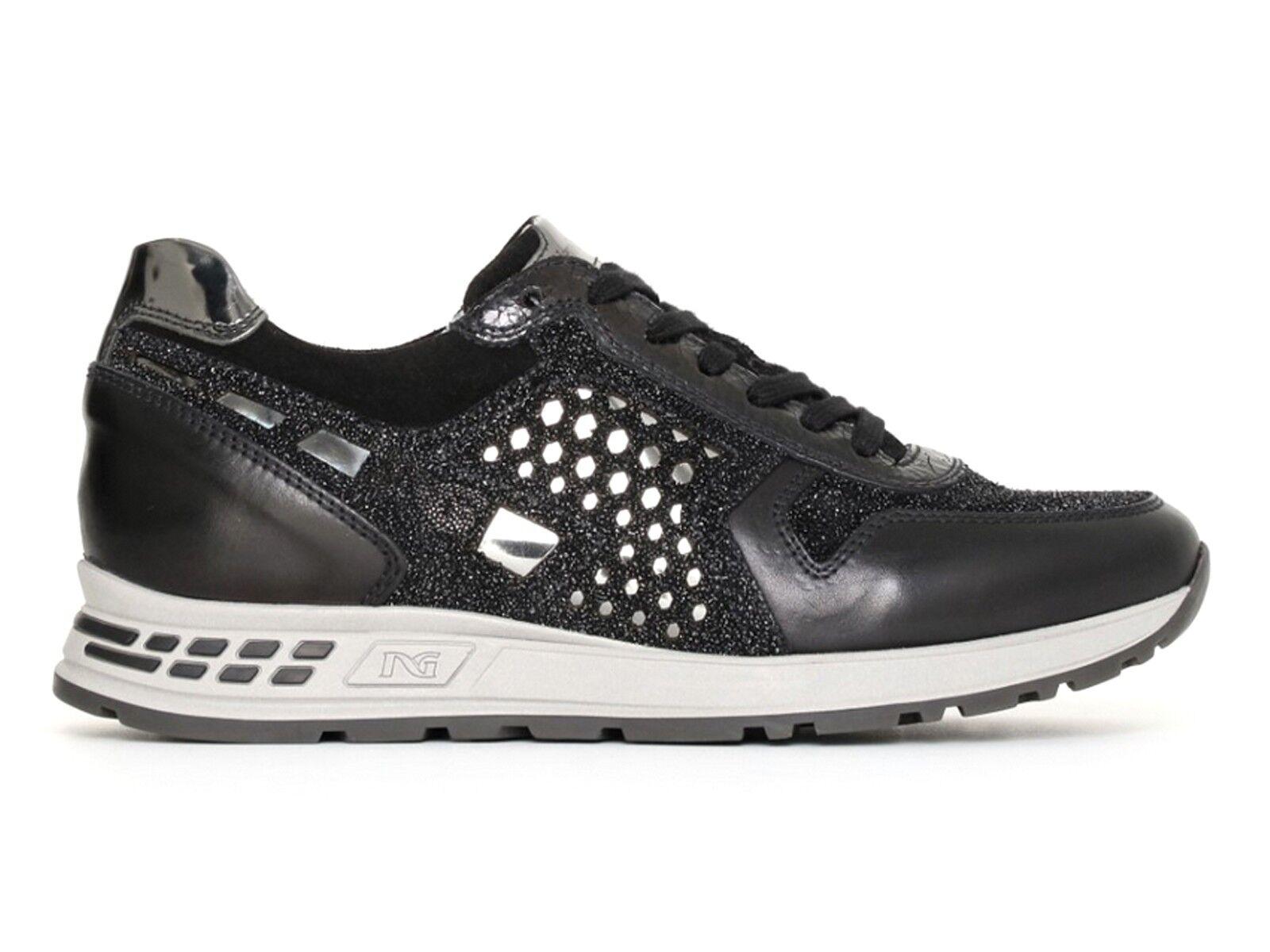 zapatos mujer INVERNO negro GIARDINI INVERNO mujer A719470D 100  zapatillas negro 6d0432