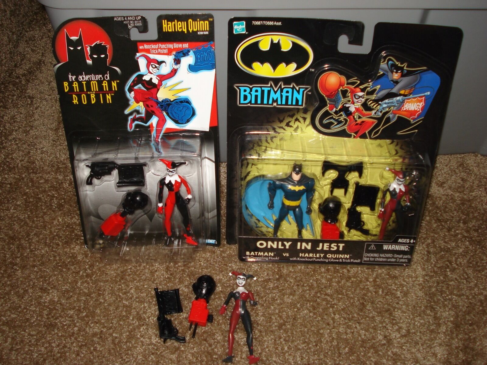 Harley Quinn Action Figure Collection Lot Great Condition Items