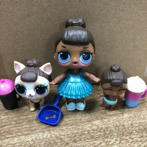 Miss Puppy pets toys gift LOL Surprise Doll Family LiL MISS BABY SERIES 2