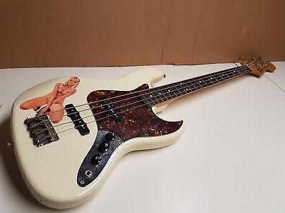 1984 Squier By Fender Jazz Bass - Jv Series Japan Ungleiche Leistung