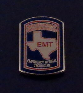 Maryland EMT Emergency Medical Technician Lapel//Uniform//Collar Pin MD EMS