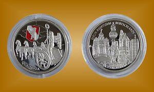 Belle Médaille Gedenkprägung Rfa Ville Médaille Quadriga Porte De Brandebourg Berlin-afficher Le Titre D'origine