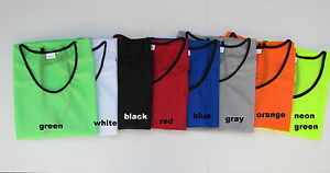 20-Scrimmage-Jerseys-Pinnies-Adult-Youth-Child-Soccer-Football-Basketball-Vests