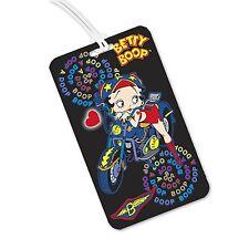 Betty Boop Lenticular Luggage Tags - Motorcycle Flip - #BB-206-LT#