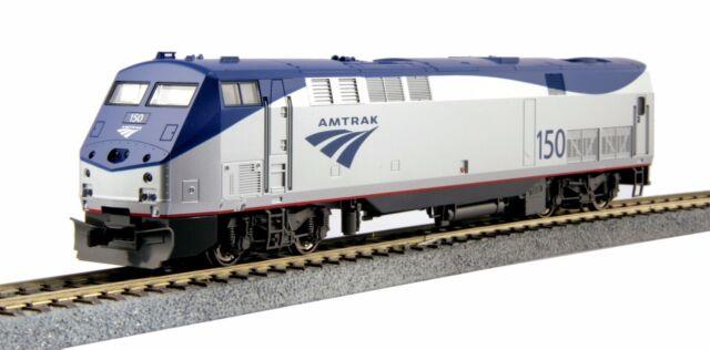 """KATO 376109 HO Scale  GE P42 Amtrak """"Genesis"""" Phase Vb #150 DC 37-6109 NEW"""