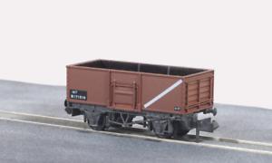 Peco-NR-44FB-N-Gauge-BR-Bauxite-Steel-Mineral-Wagon-B171510