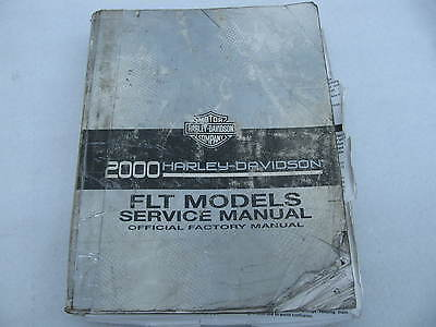 2000 Harley-Davidson FLT Parts Catalog Manual OEM