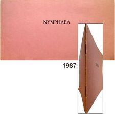 Nymphaea 1987 Paul-Armand Gette Bernard Marcadé galerie Claire Burrus nymphes