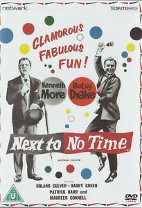 Kenneth-More-NEXT-TO-NO-TIME-Brand-New-but-UNSEALED-Region-2-UPC-5027626432348