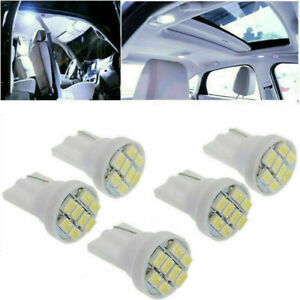 8-LED-3020-SMD-T10-5W-194-168-501-Birnen-Keil-Side-Lampen-Auto-Weiss-Fast-I5-M6L1