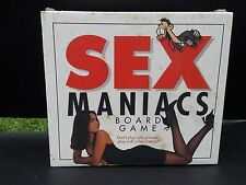 Sex Maniacs ADULT board game 2-6 players Paul Lamond Games #1700 sealeD