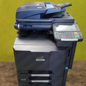 Details about Kyocera TaskAlfa 3050ci Color Tabloid Network Printer Copier  Scan Duplex 30PPM