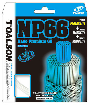 Sporting Goods Contemplative Toalson Nano Premium 66 0.66mm Badminton Strings Set An Indispensable Sovereign Remedy For Home Badminton Sets