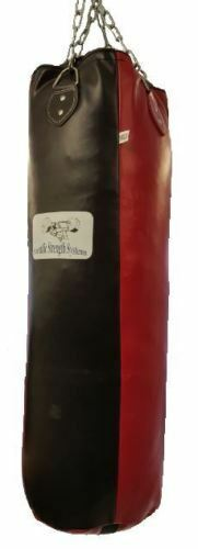 SSS & Heavy Punch Bag & SSS Chain - 150 x 35cm - (Synthetic Leder) b8bea0