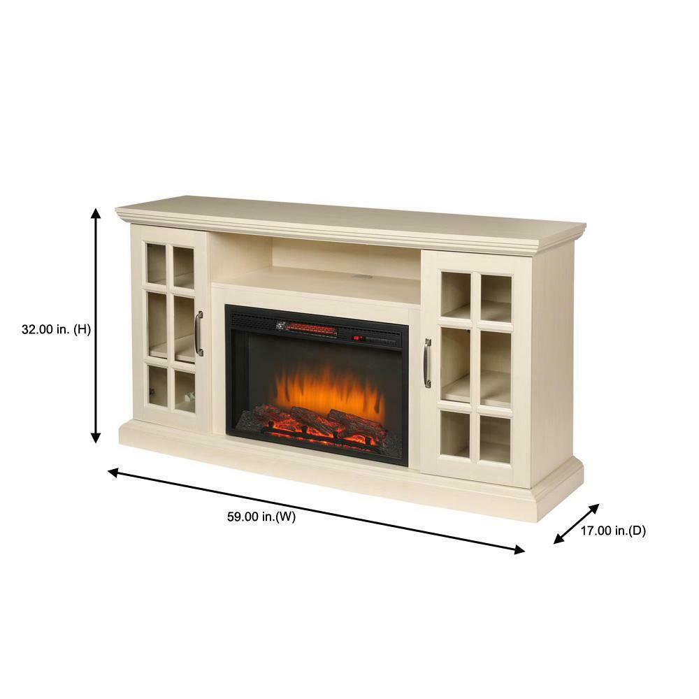 Home Decorators Collection Freestanding Infrared Electric Fireplace Tv Stand For Sale Online Ebay