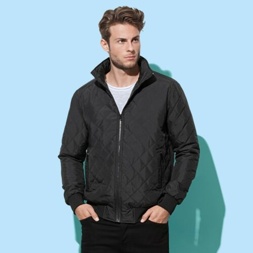 Giacca 100 p Stedman Quilted Blouson Active St5270 Uomo q7O1TwrRq