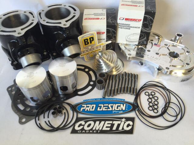 66mm Pistons Top End Gaskets Spark Plug Yamaha YFZ350 Banshee 1987-2006