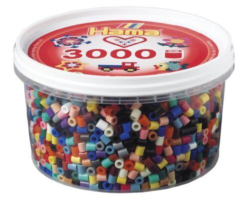 Bügelperlen Perlen-Dose HAMA *  210-67 Farbig
