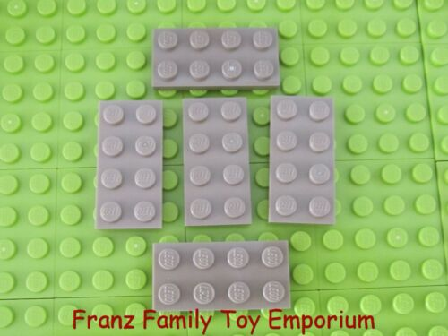 New LEGO Lot of 5 Dark Tan PLATE 2 x 4 Star Wars Harry Potter Castle Part 3020