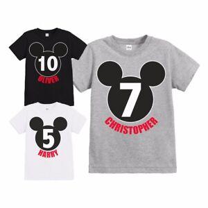La imagen se está cargando  Hombre-Oficial-Disney-Mickey-Mouse-Cumpleanos-Silueta-Personalizado- 266e2400750