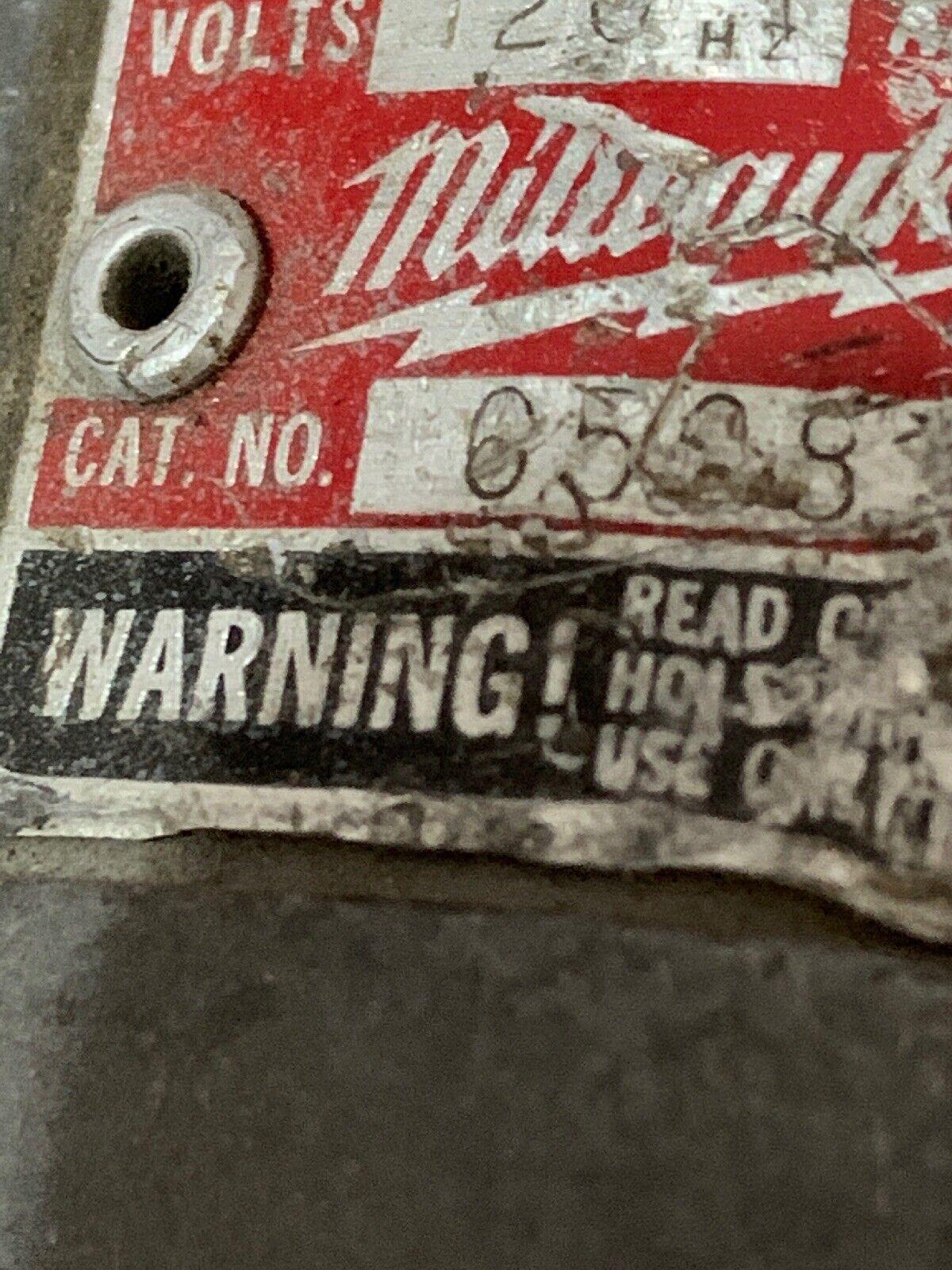 2 Milwaukee Sawzall 6508 6537  120V Reciprocating Saw - (s009