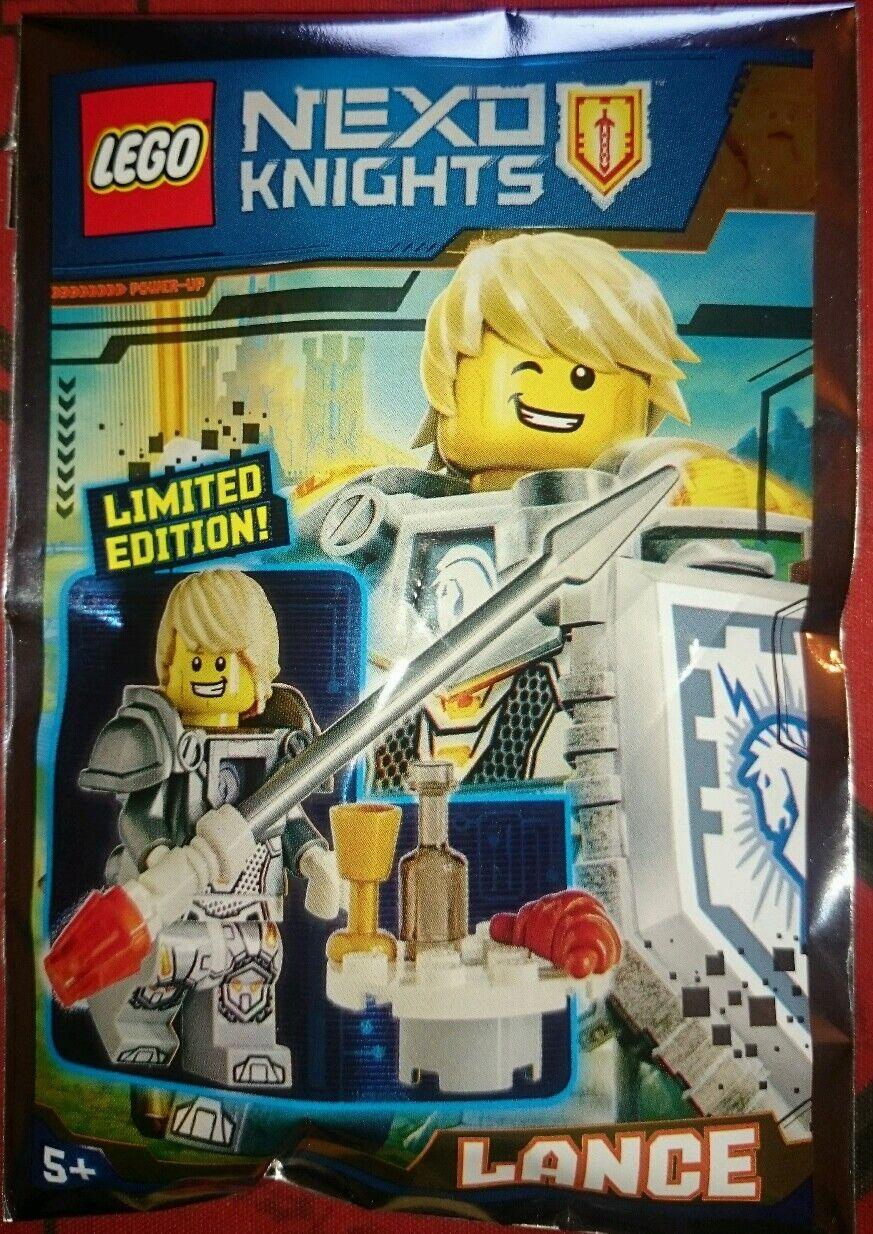 Lego Nexo Knights 271601 Lance Limited Edition Limitada Nuevo New Exclusive Rare | Conception Habile