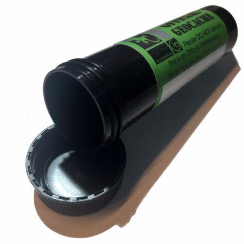 environ 11.43 cm Tall étiqueté et prêt à masquer Big Vis Top Géocache tube conteneur 4.5 in