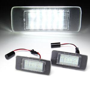 SMD-LED-iluminacion-de-la-matricula-para-Opel-Astra-J-Sports-Tourer-Zafira-C-Vectra-C