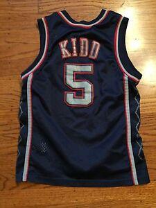 brand new ea87a 3fceb Details about Youth Nike Jason Kidd New Jersey Nets Jersey