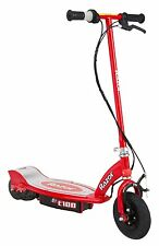 NEW Razor E100 Electric Kick Scooter RED Ride On