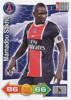 MAMADOU SAKHO # PARIS.SG PSG LIVERPOOL.FC CARD PANINI ADRENALYN 2012
