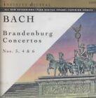 Bach Brandenburg Concertos 3 4 6 0074645721620 CD H