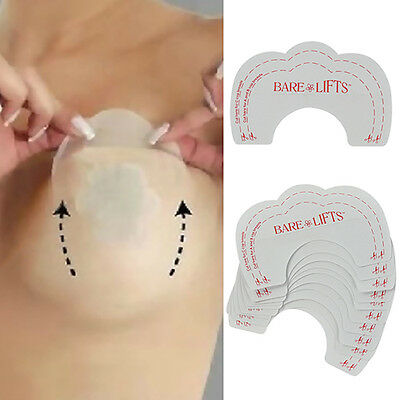 Invisible Self-Adhesive Silicone Nipple Cover Pads Bra Inserts Gel Chest Paste